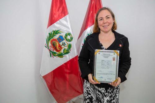 """Rusa en Perú: """"Empiezo una nueva vida, estoy feliz de ser peruana"""". Foto: ANDINA/Difusión."""