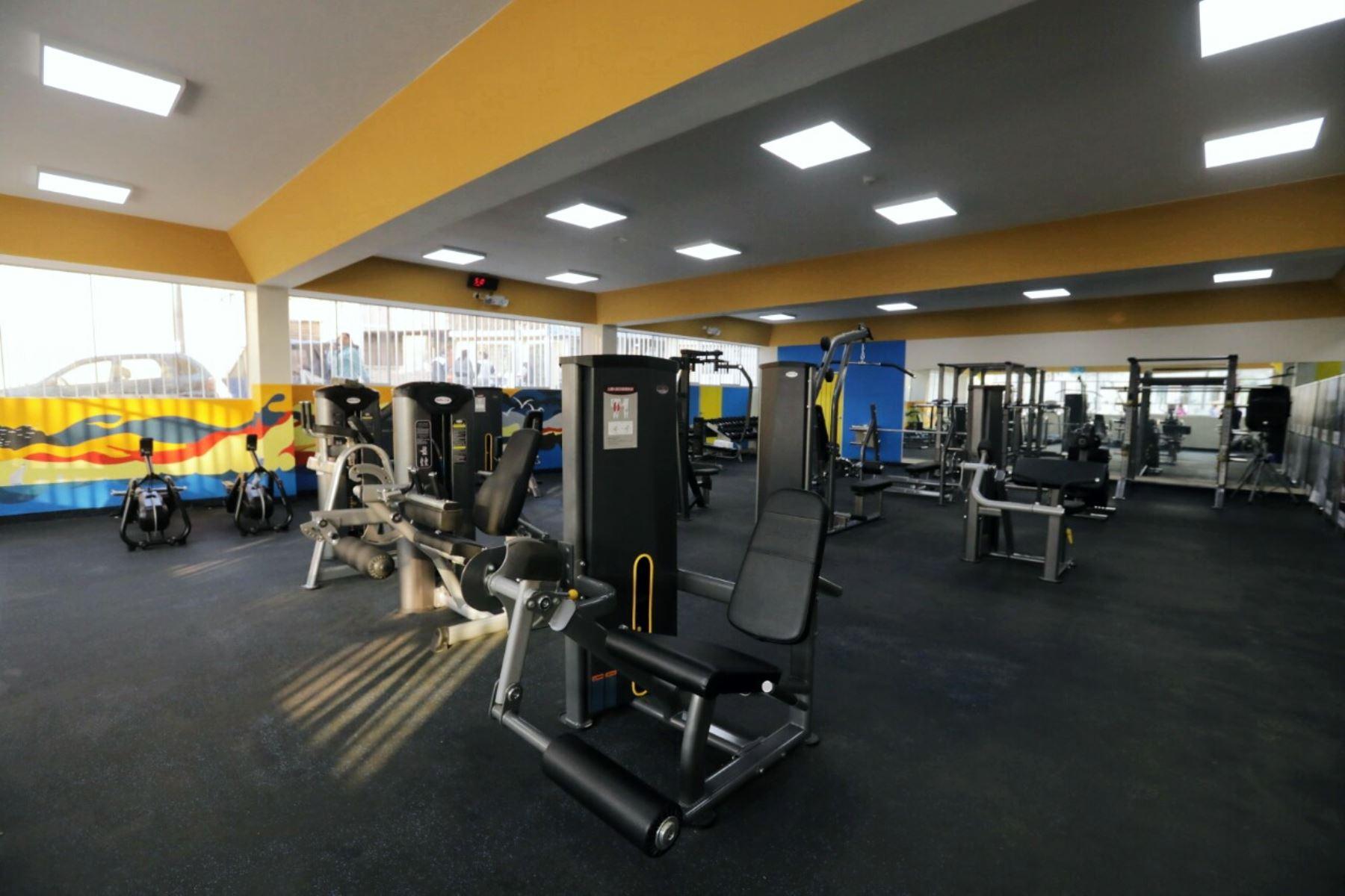 Municipio de Lima inauguró gimnasio para los vecinos de Barrios Altos. Foto: ANDINA/Difusión.