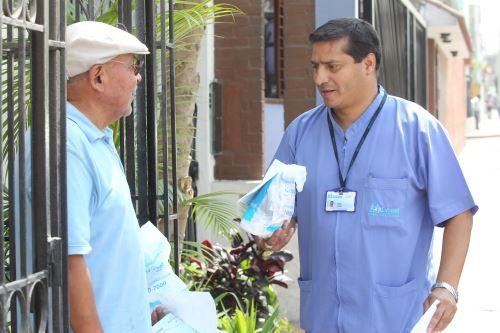 Presidenta de EsSalud pide a médicos de Padomi mejorar la atención a adultos mayores. Foto: ANDINA/Difusión.