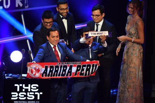 FIFA The Best: Perú gana premio a la mejor afición del Mundial Rusia 2018