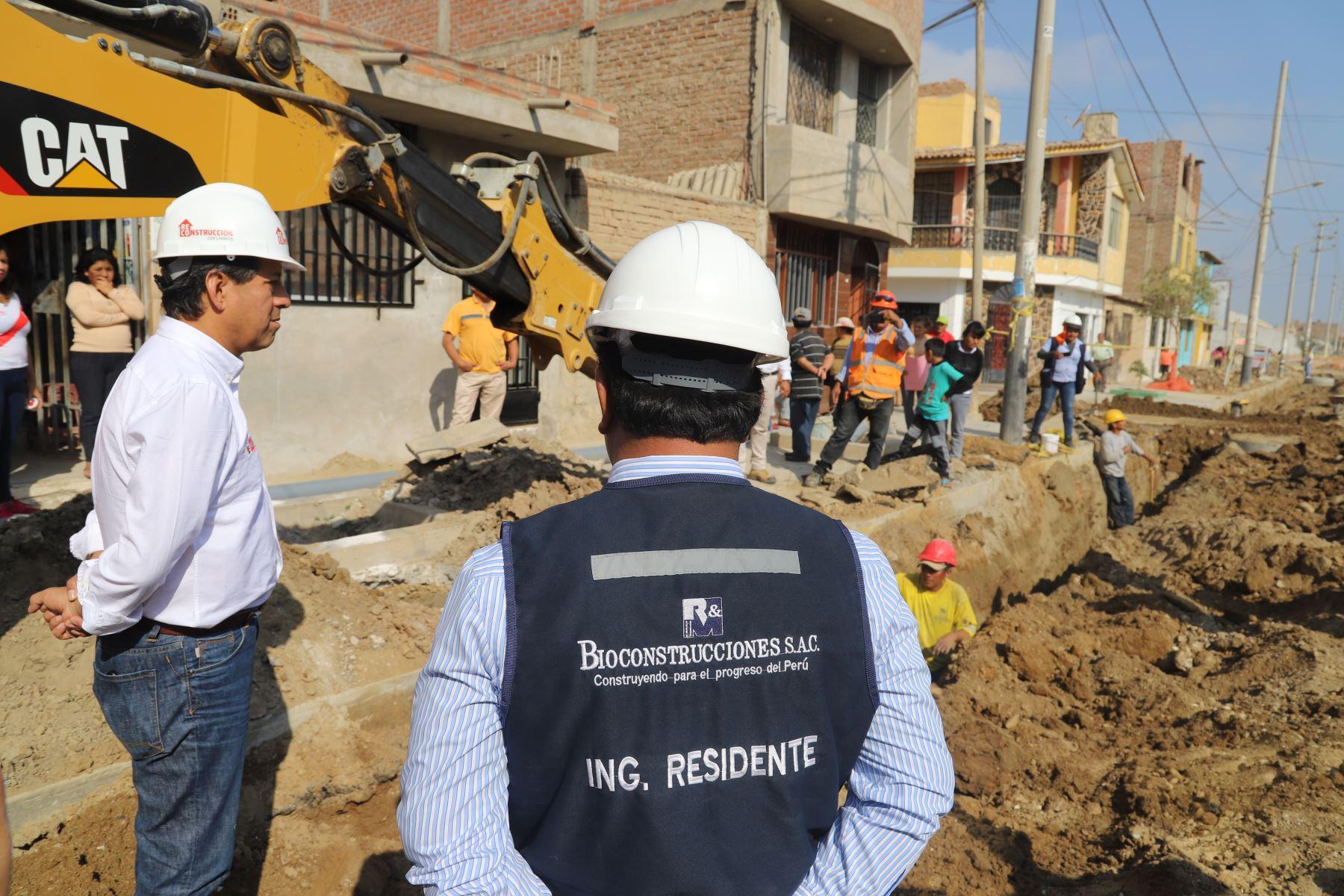 Como parte del proceso de Reconstrucción con Cambios, se ejecutarán obras de saneamiento en la provincia de Huarmey, región Áncash.