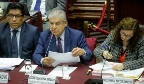 Presidente del Consejo de Ministros, César Villanueva, sustenta ante la Comisión de Constitución proyecto para el retorno a la bicameralidad.