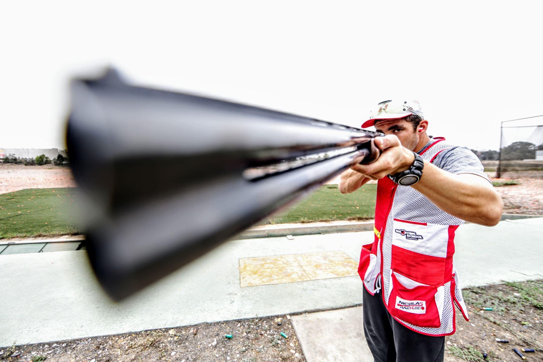 A los 17, cuando todos ingresaban a la universidad, el representaba a nuestro país en las Olimpiadas de Londres 2012.  Foto: ANDINA/Luis Iparraguirre