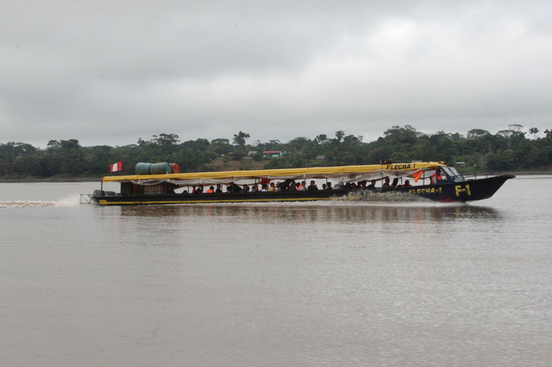 Estas medidas deben cumplir las embarcaciones fluviales en la Amazonía para garantizar un viaje seguro. Foto: ANDINA/archivo.