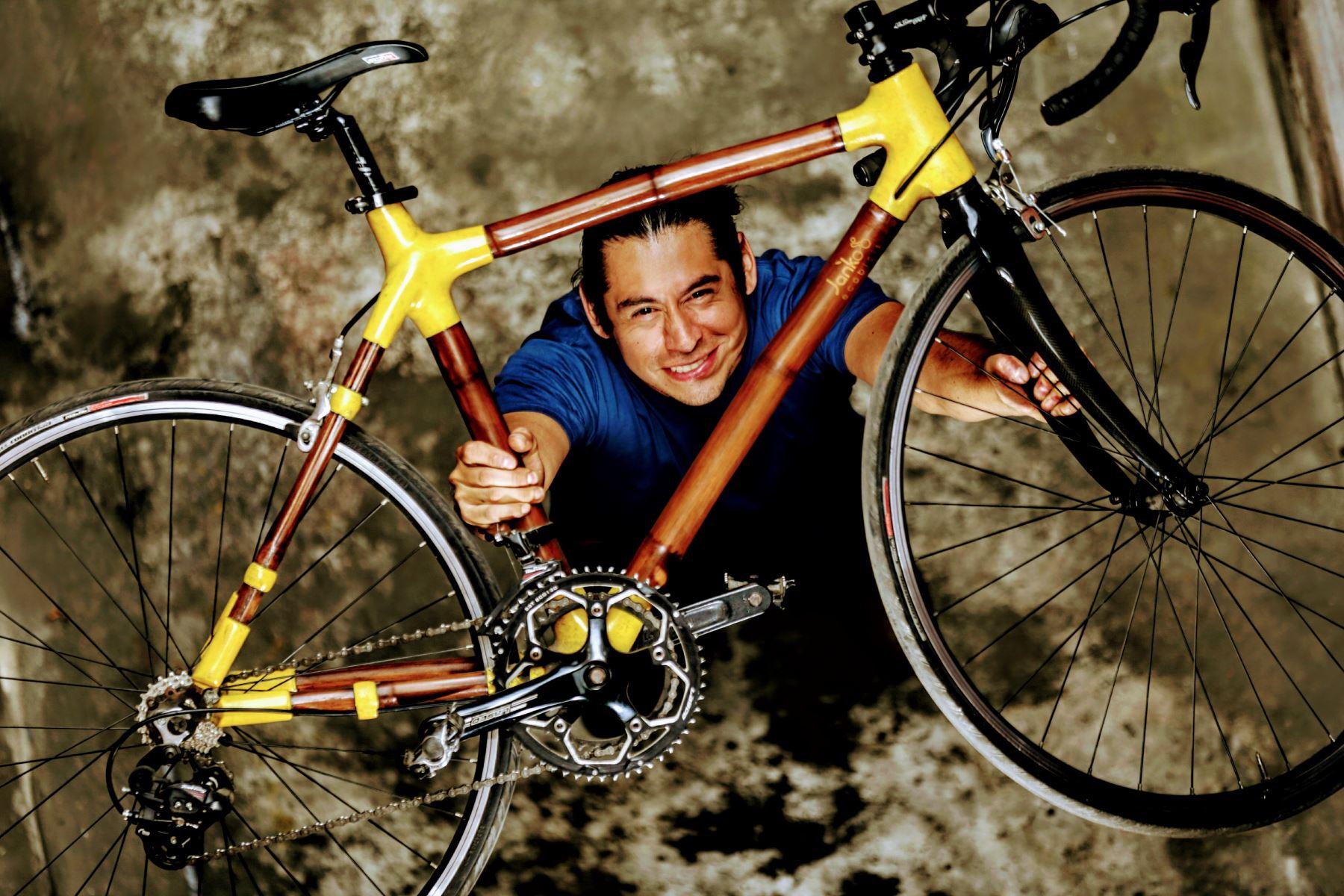 Bicicleta ha sido probada y ya se difunden sus beneficios. Foto: ANDINA/Luis Iparraguirre.