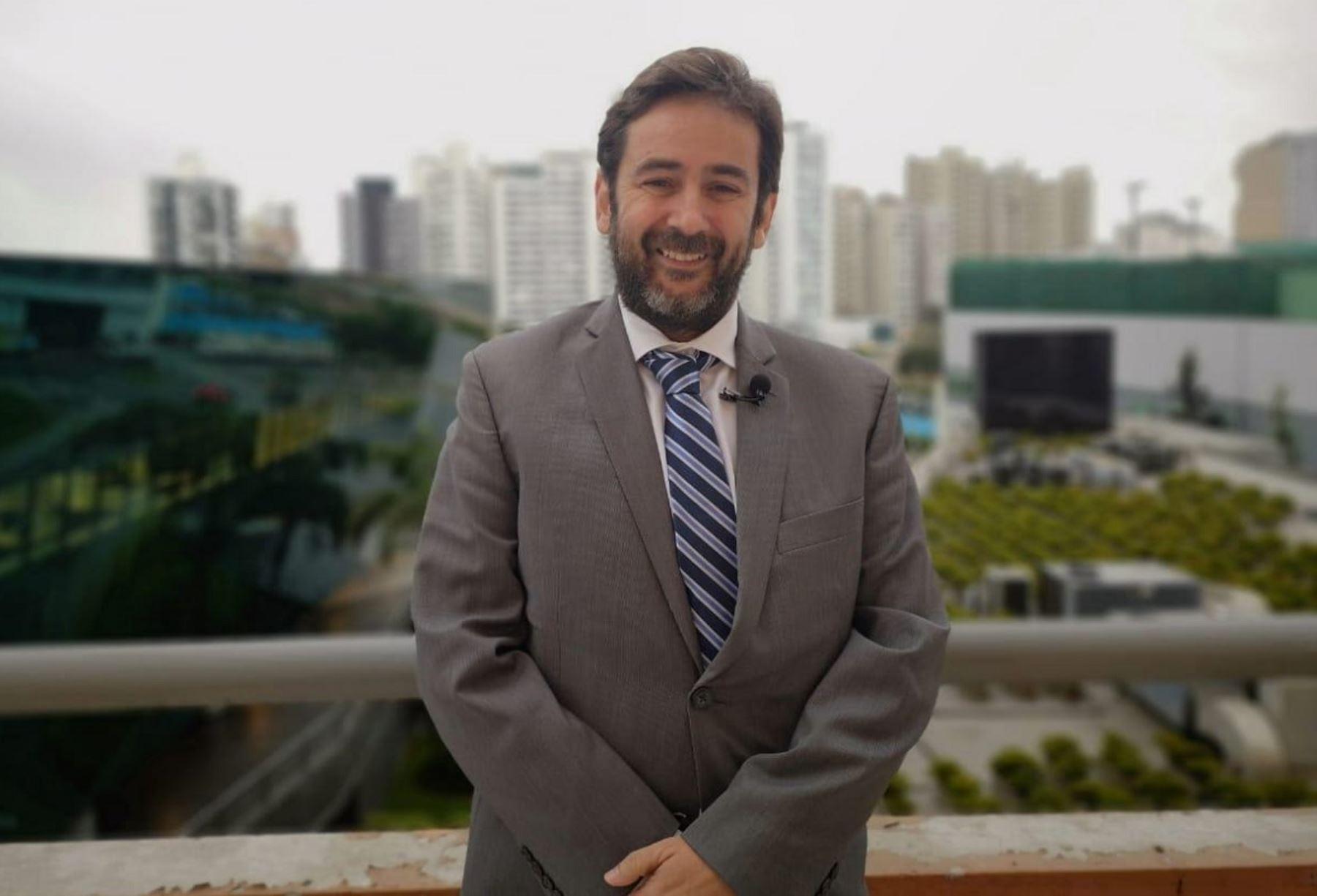 Director del Pacto Global ONU para las Américas, Javier Cortés. Foto: Cortesía.