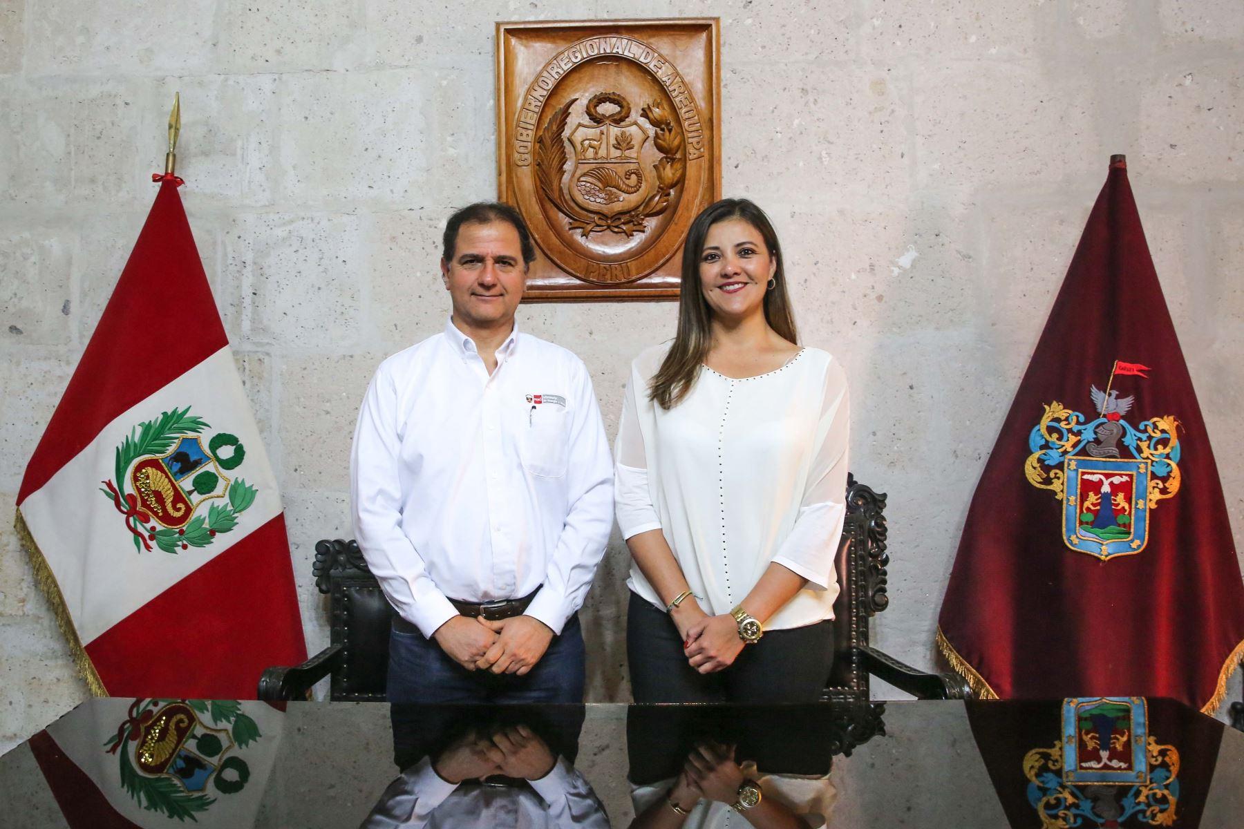 Arequipa contará con Comité de Gestión e Información Minero Energético, anunció ministro de Energía y Minas, Francisco Ísmodes. ANDINA/Difusión