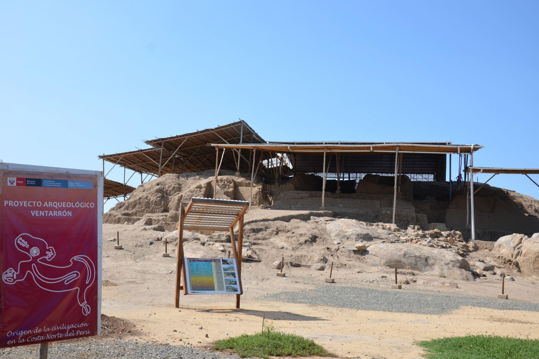 Proyecto arqueológico Ventarrón se encuentra en la región Lambayeque.