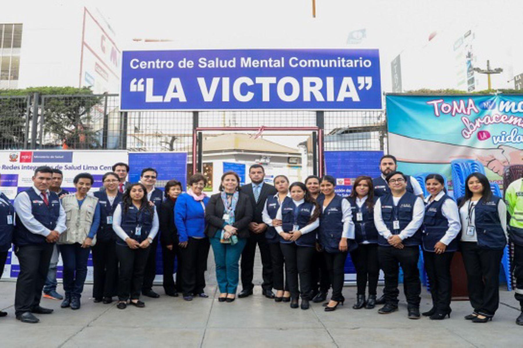 Está ubicado cerca al emporio comercial de Gamarra, que brindará atención especializada a 177 mil personas.