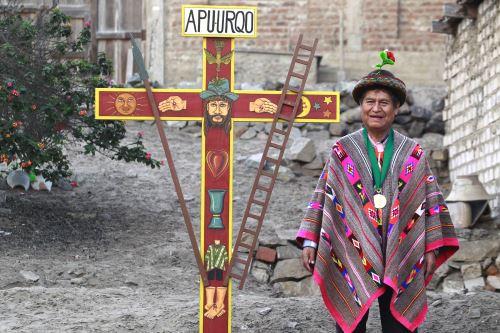 El artesano ayacuchano Primitivo Evanán fue declarado Personalidad Meritoria de la Cultura