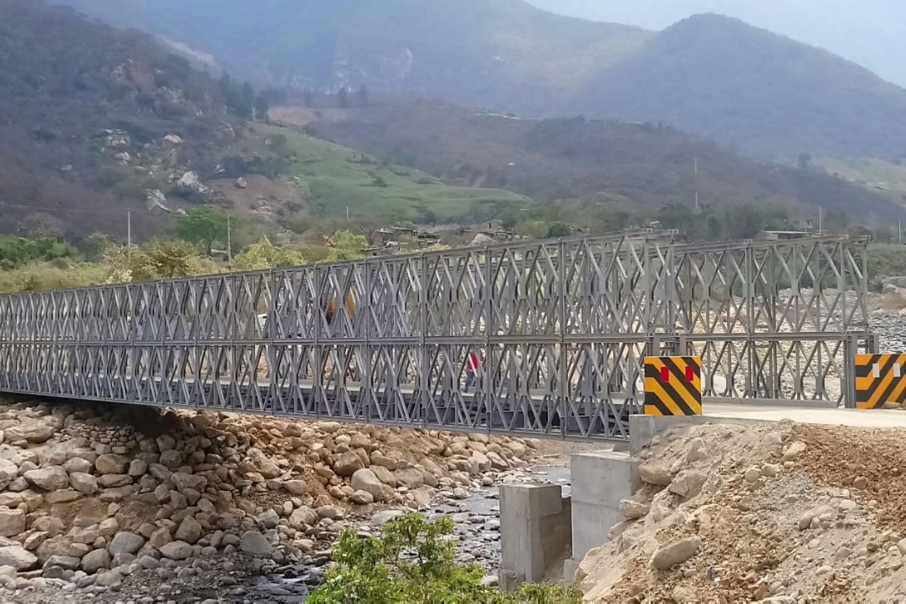 MTC adquiere 98 puentes modulares para diez regiones afectadas por el Fenómeno El Niño Costero.