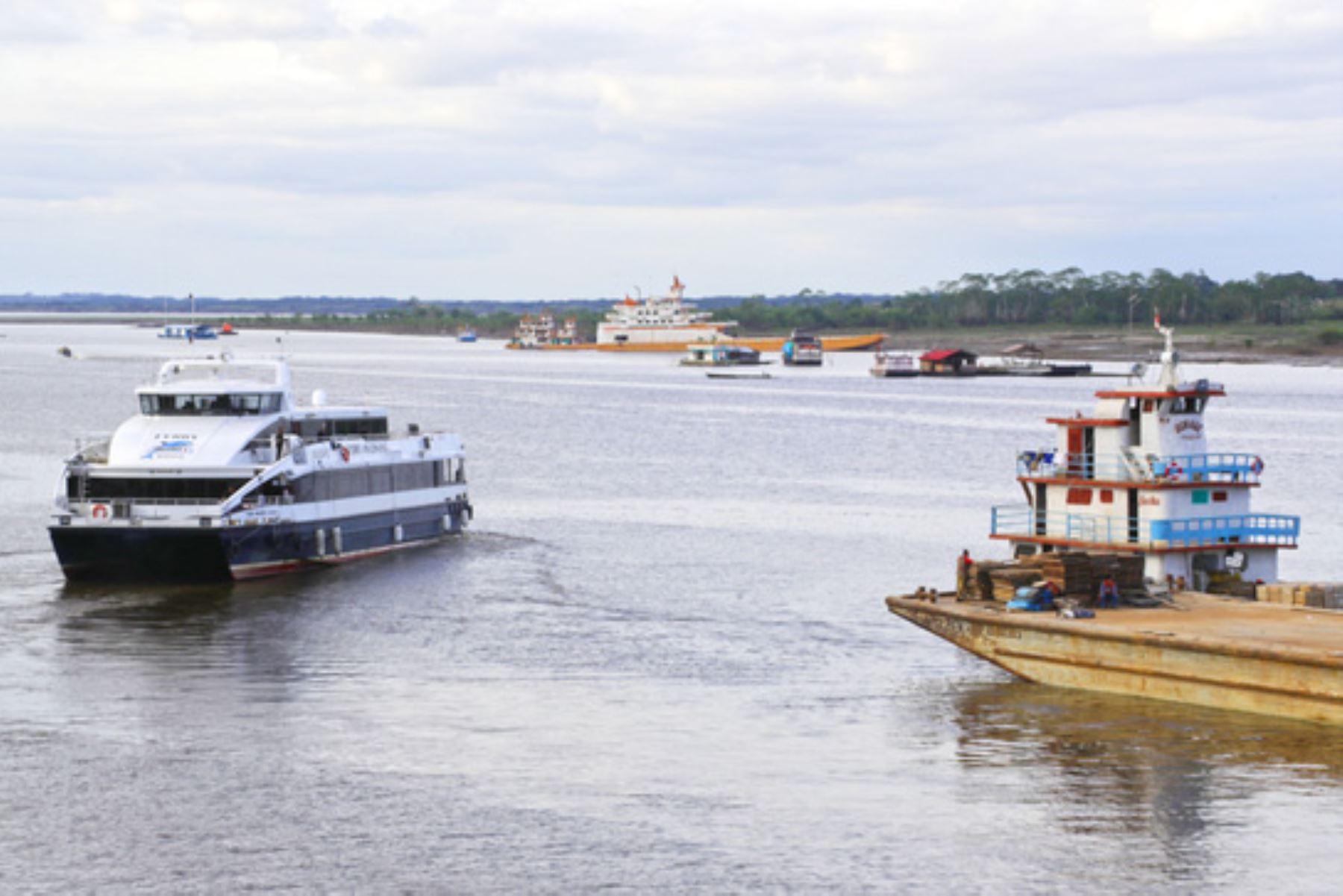 Hidrovía Amazónica: plantean consideraciones para estudio de impacto ambiental. ANDINA/Difusión