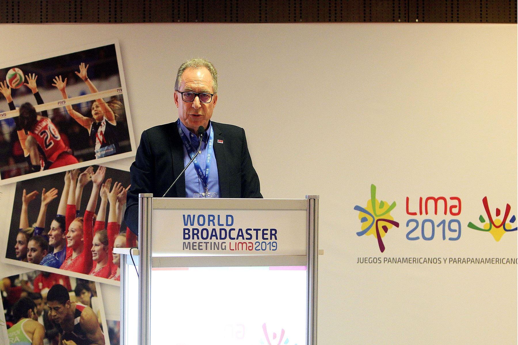 José Luis Rubio, representante de Mediapro, aseguró que se busca generar identidad con los Juegos Lima 2019