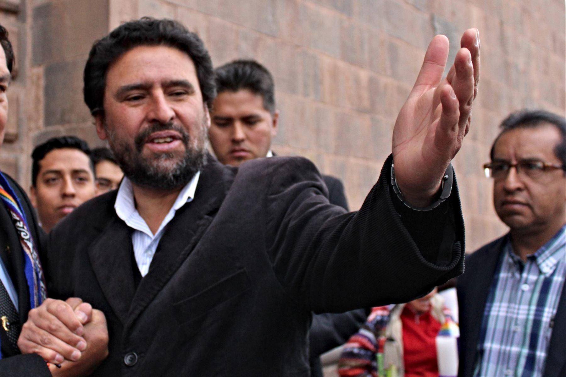 Víctor Boluarte Medina se perfila como alcalde provincial de Cusco.Foto:  ANDINA