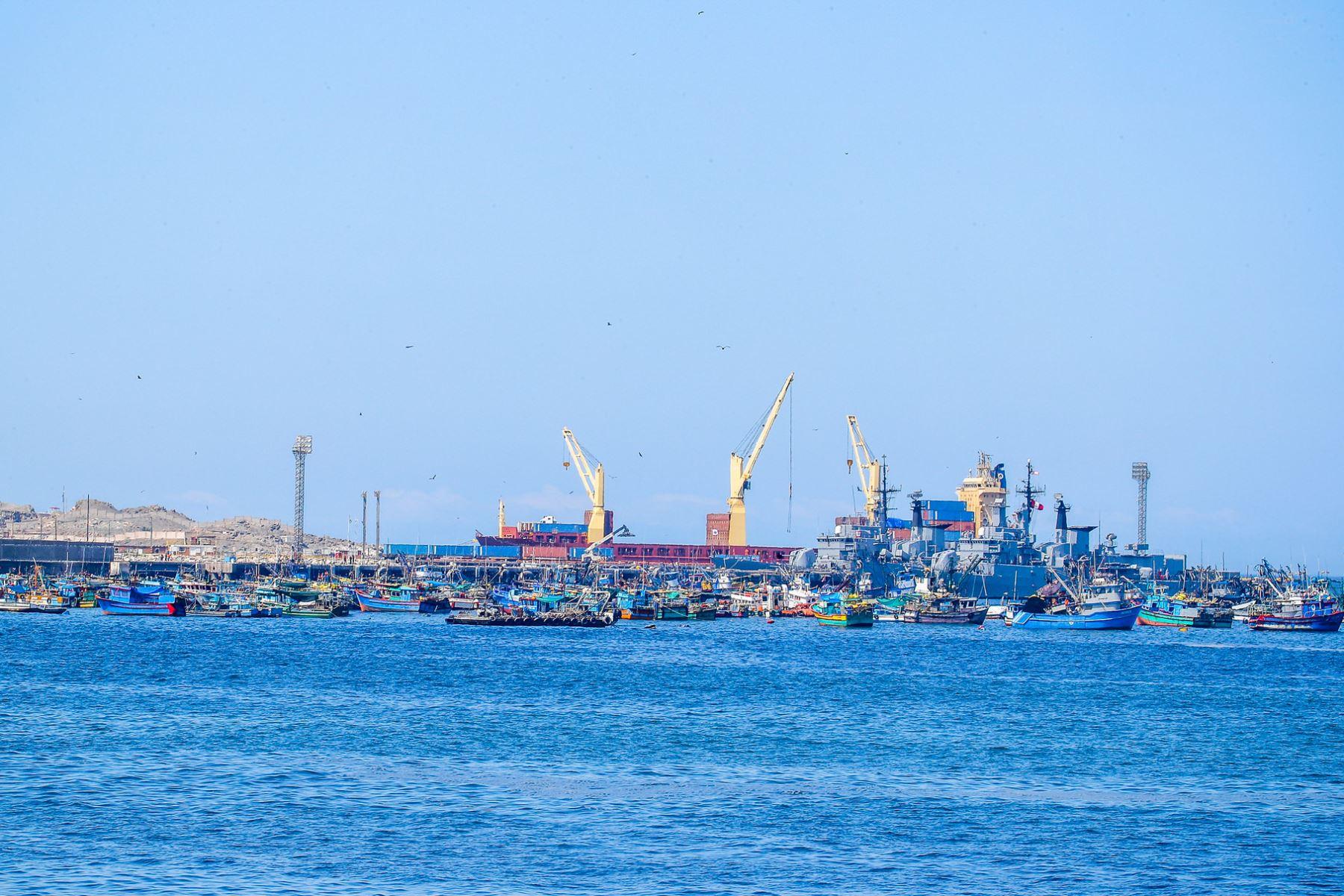 Terminal portuario de Ilo listo para recibir la primera embarcación para Bolivia. ANDINA/Difusión