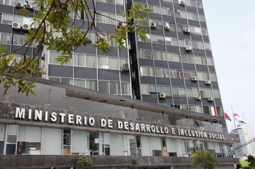 Ministerio de Desarrollo e Inclusión Social ANDINA/Norman Córdova