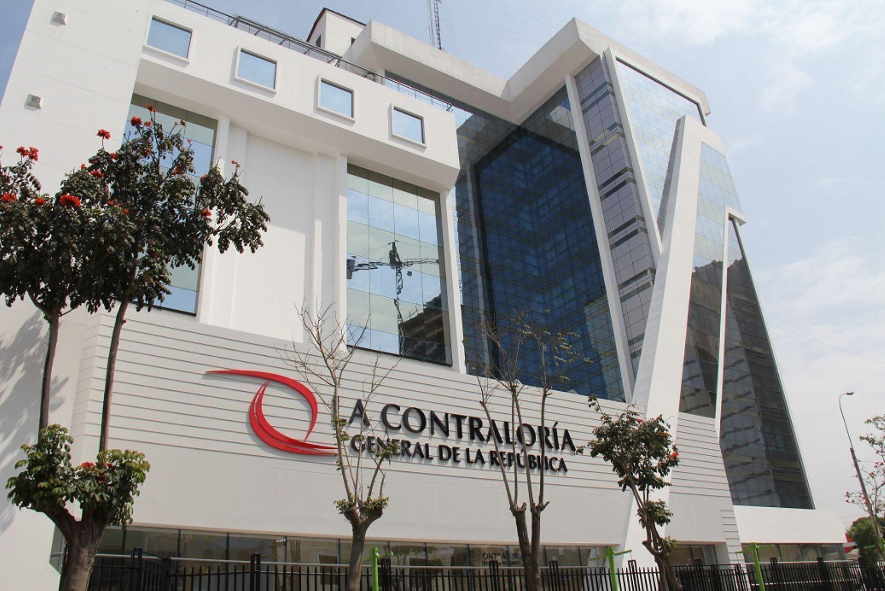 Contraloría General de la República Foto: ANDINA/Difusión