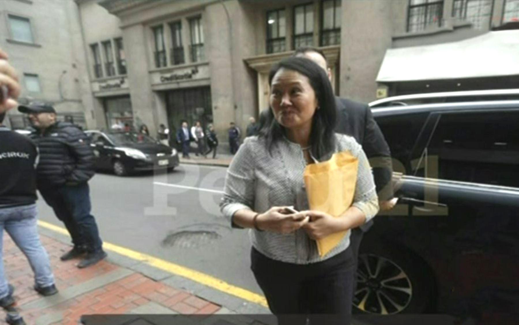 Detuvieron a Keiko Fujimori por lavado de activos en Perú