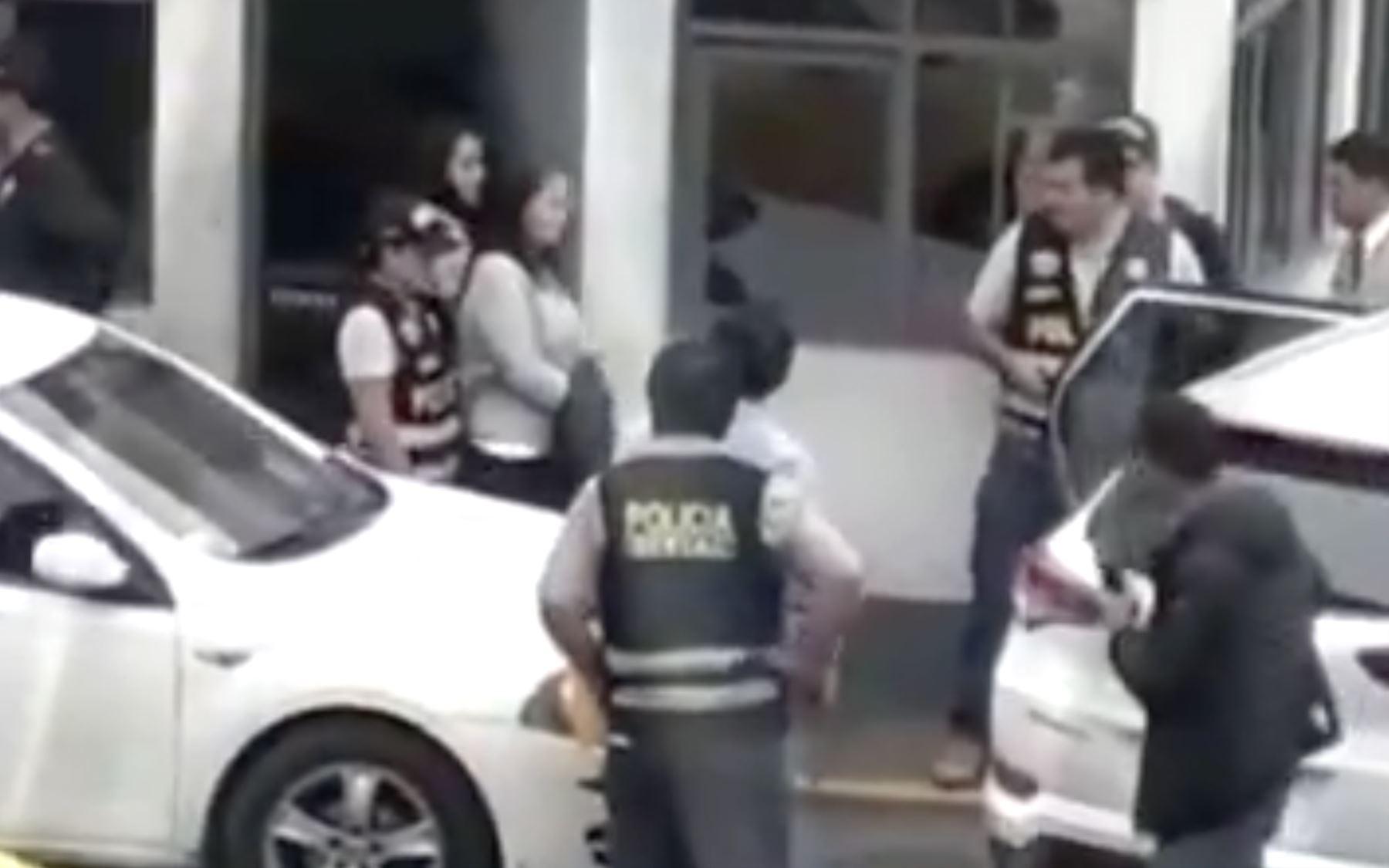 Keiko Fujimori detención preliminar. Foto: Captura TV Canal N