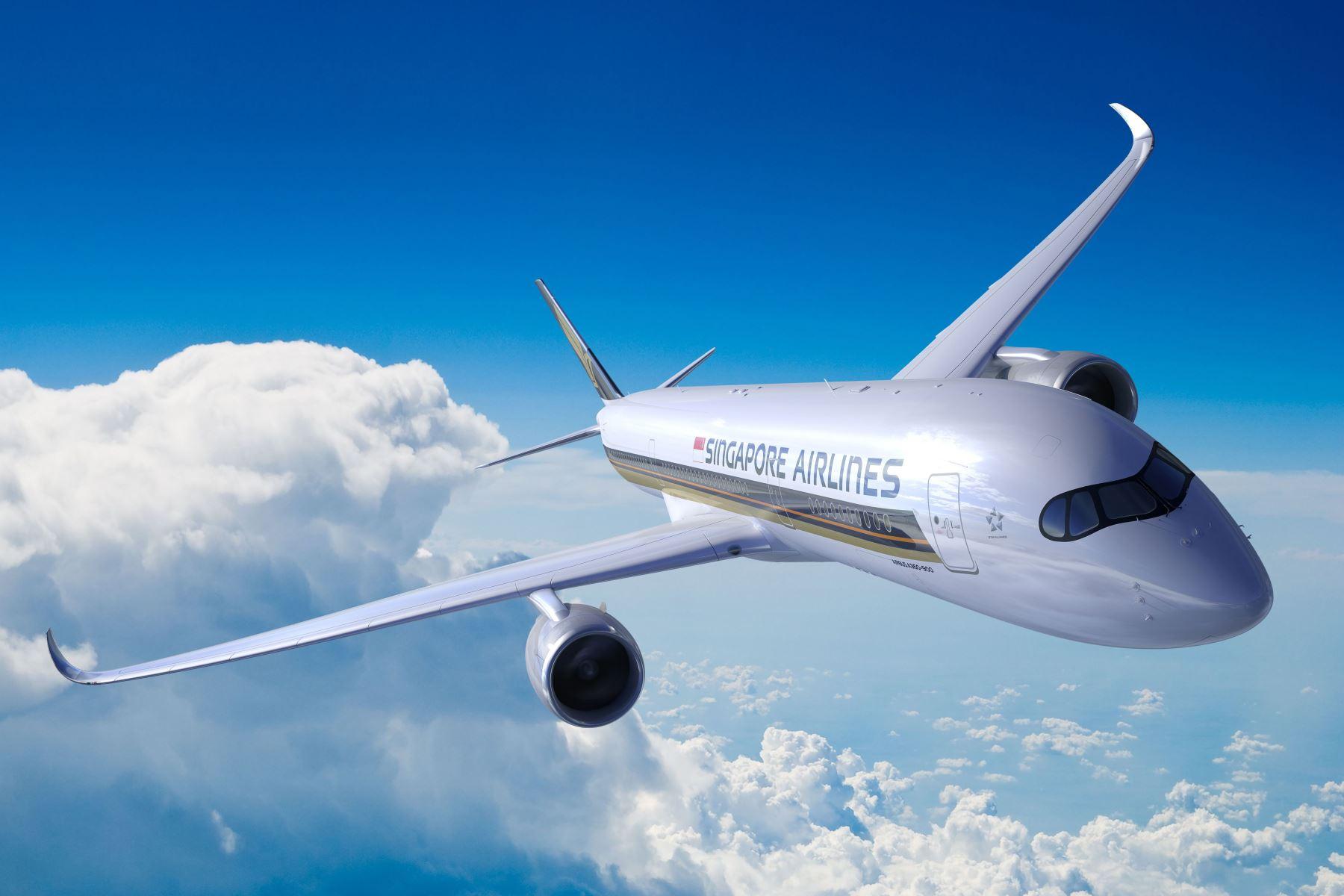 Airbus A350-900ULR en vuelo Foto: AFP