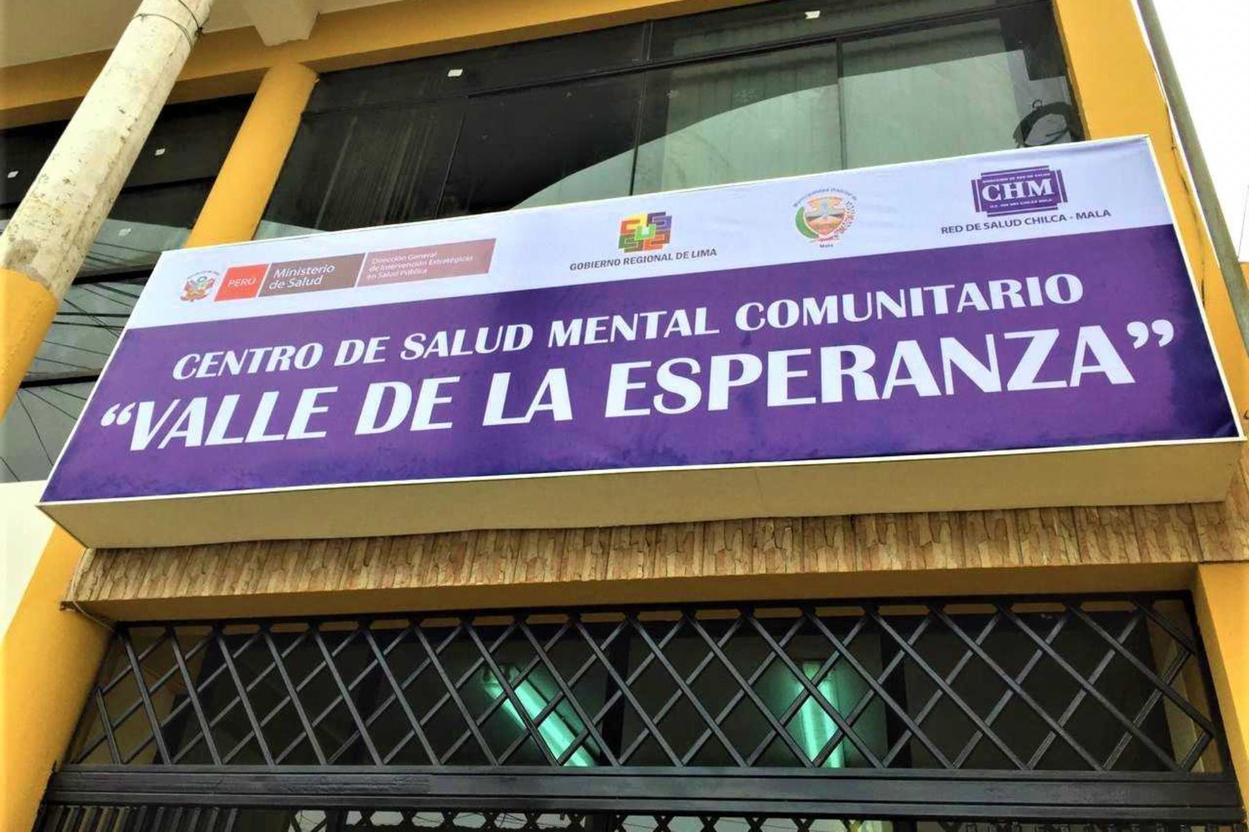 Minsa inaugura Centro de Salud Mental Comunitario en el distrito de Mala, provincia de Cañete.
