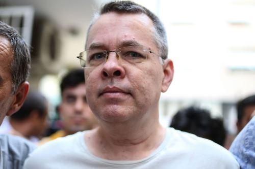 Pastor estadounidense Andrew Brunson Foto: AFP