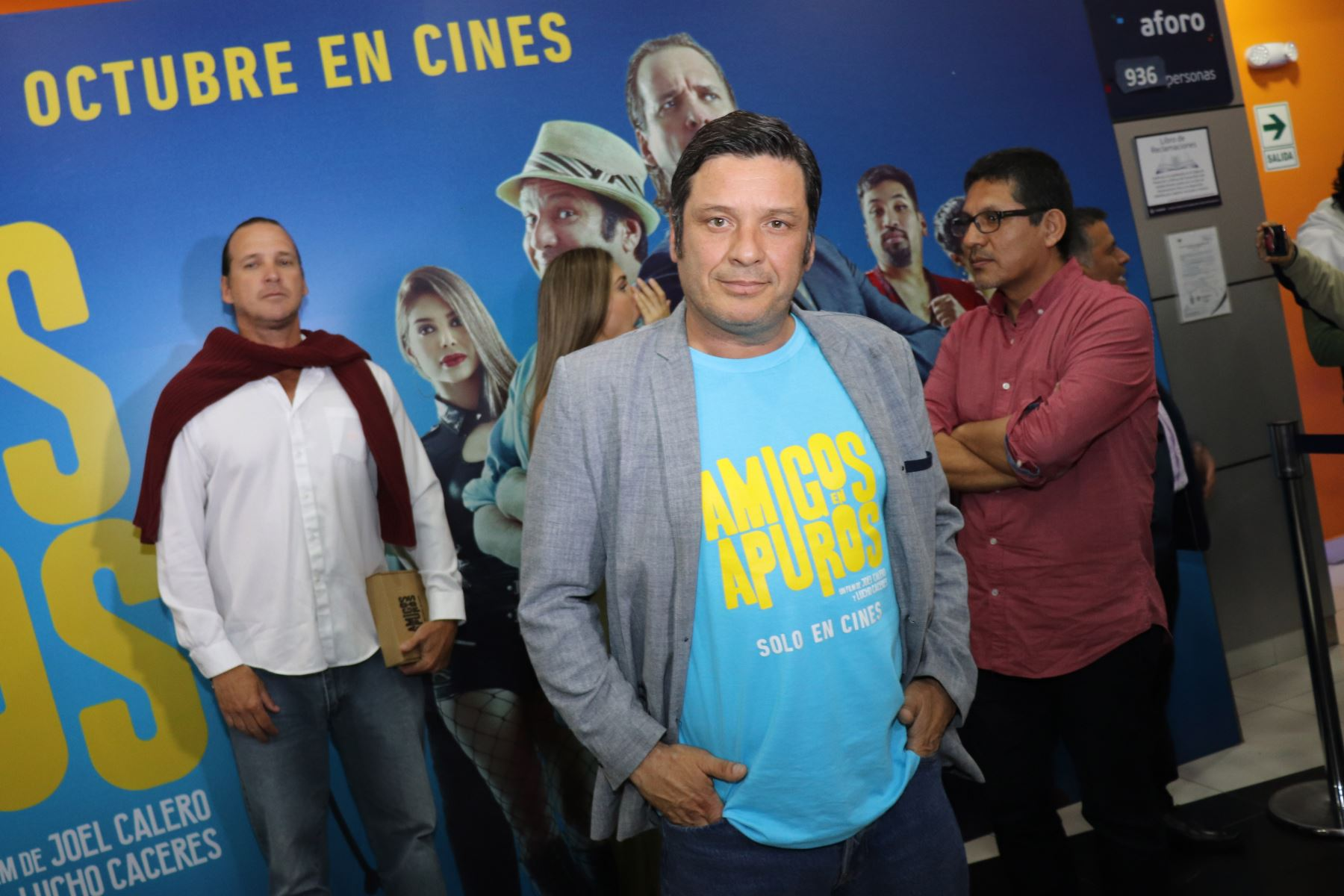 Lucho Cáceres participa en esta cinta como director.