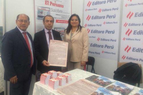 Editora Perú participa del Congreso de Periodismo, Radio y Televisión COPERATV y EXPOTEC Perú 2018, que se inauguró hoy en Arequipa.