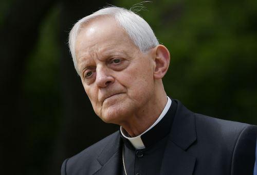 Arzobispo de Washington Donald Wuerl Foto: AFP