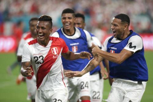 Perú ganó 3-0 a Chile en partido amistoso disputado en el Hard Rock Stadium de Miami