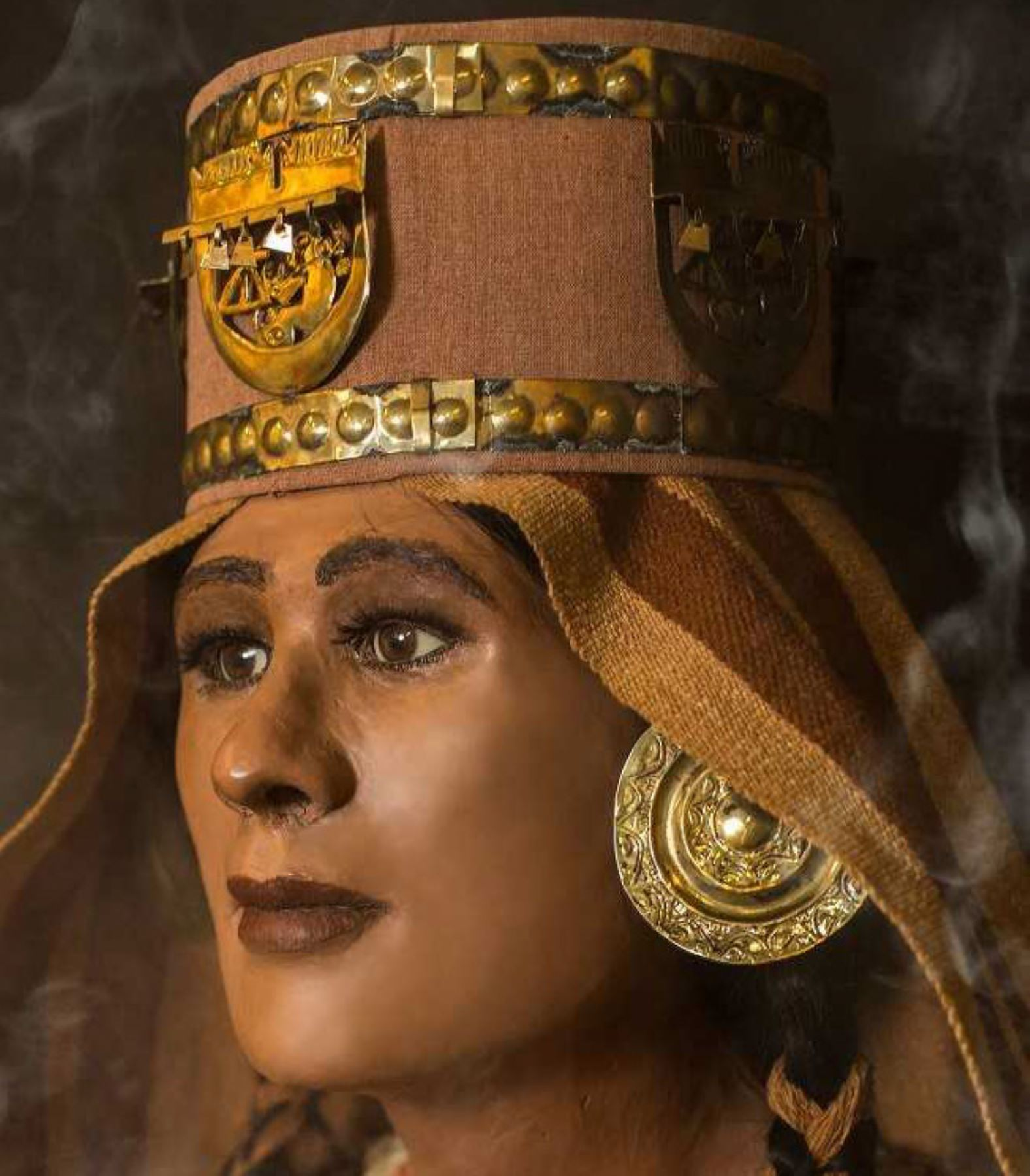 Unas cien piezas arqueológicas del ajuar funerario de la Sacerdotisa de Chornancap deben ser sometidas a un proceso de conservación. ANDINA/Difusión