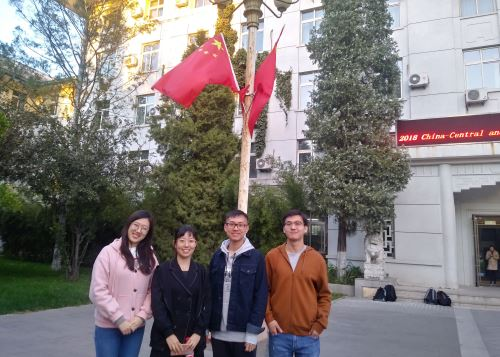 Universitarios chinos estudian español. Foto: Sonia Millones.
