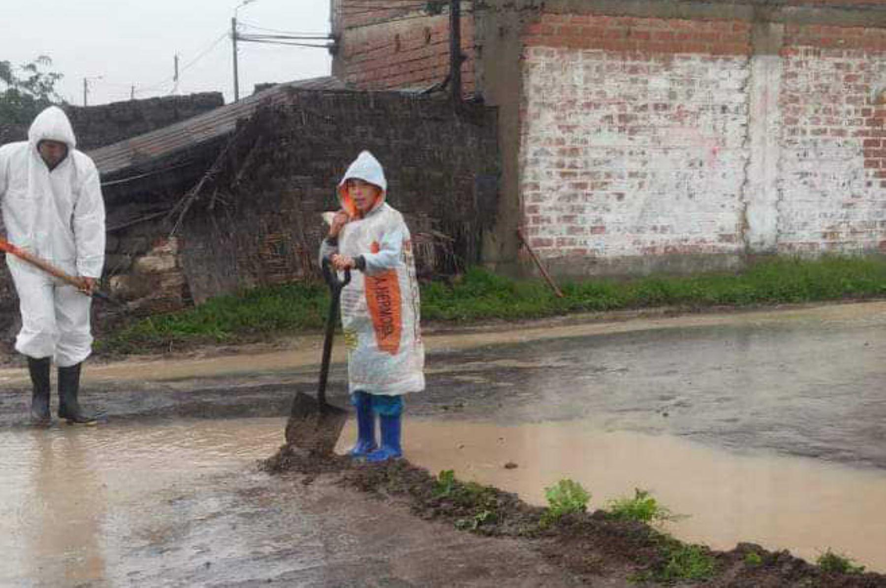 El Servicio Nacional de Meteorología e Hidrología (Senamhi) informó que desde hoy hasta el martes 5 de febrero, acontecerán lluvias en la sierra y costa norte del país, las mismas que afectarían 154 provincias situadas en 19 departamentos. ANDINA/Difusión