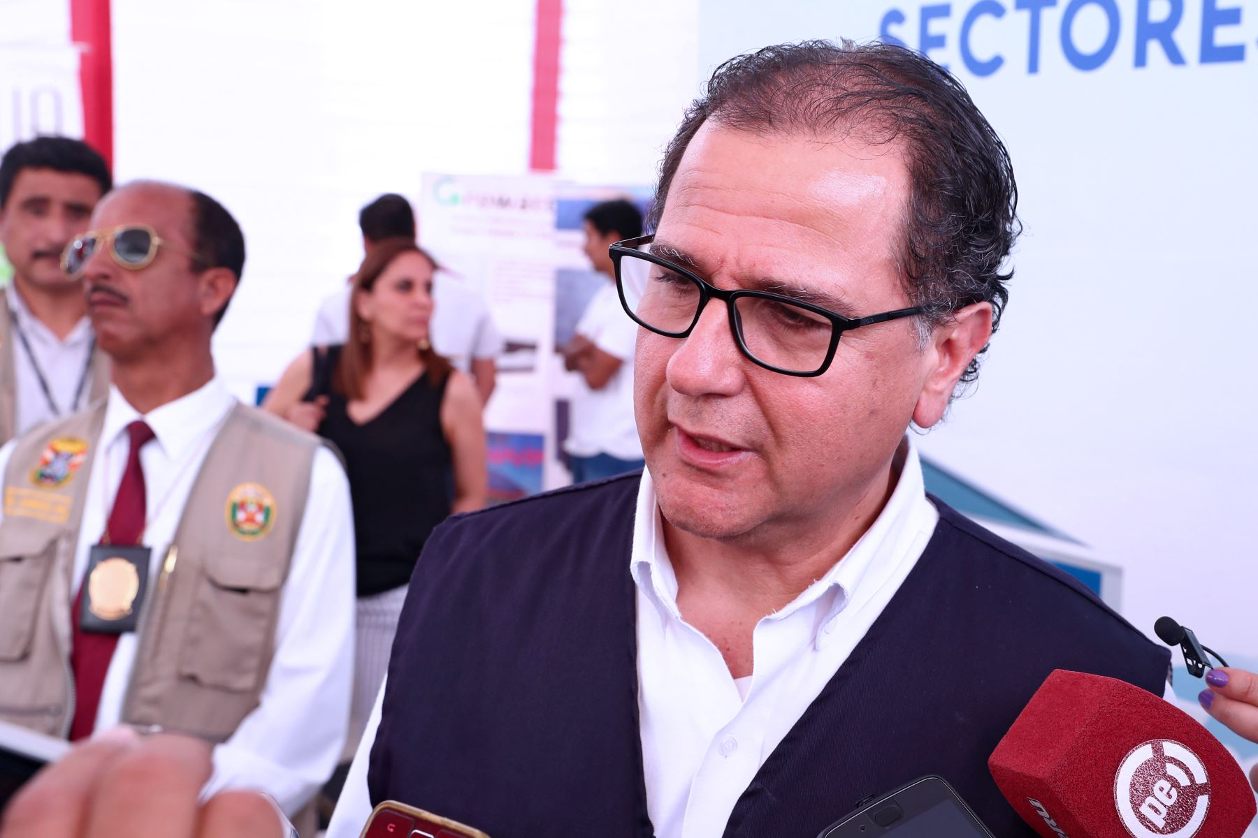 Ministro de Energía y Minas, Francisco Ísmodes. ANDINA/Vidal Tarqui