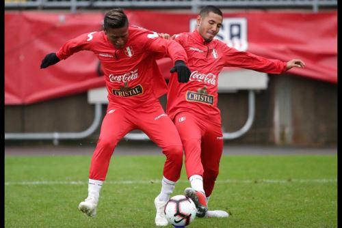 Selección peruana lista para enfrentar a su similar de Estados Unidos