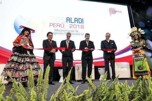 Inaguraciòn de la Expo Aladi–Perú 2018 tendrá mas de  4,000 citas de negocios