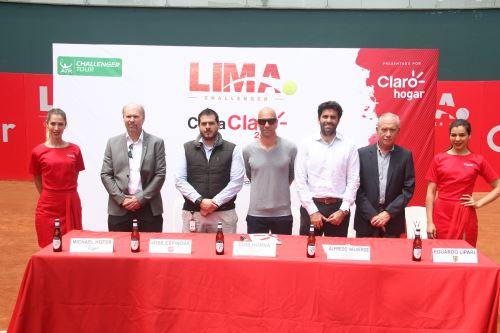 El Lima Challenger Copa Claro 2018 se instala desde hoy, en las instalaciones del Club Tenis Las Terrazas de Miraflores