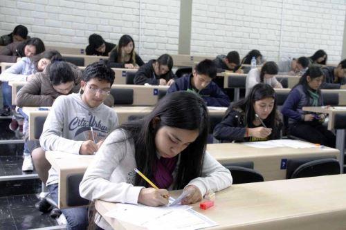 Beca 18: concursantes deberán rendir examen nacional de preselección. Foto: ANDINA/Difusión.