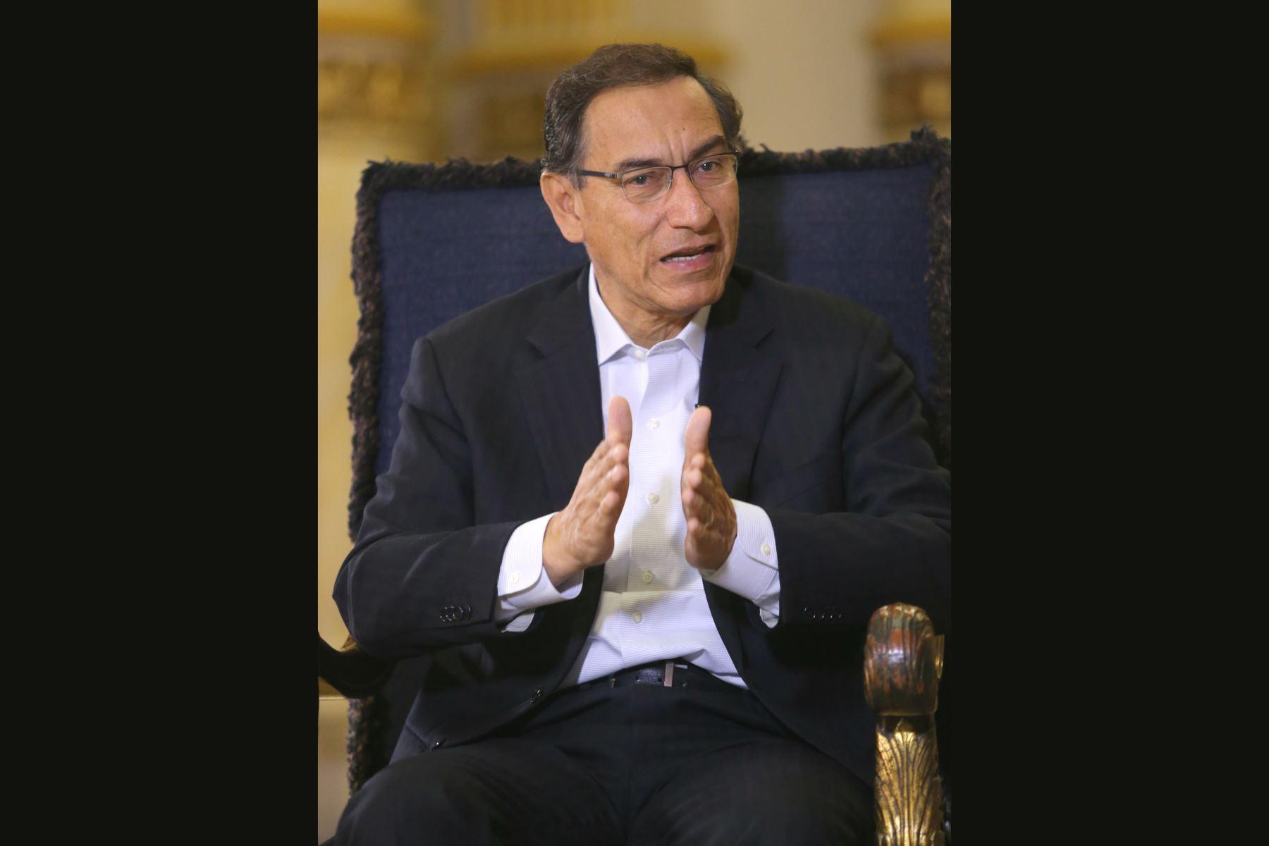Antes que deje cargo Toledo responderá aquí a la justicia — Presidente Vizcarra
