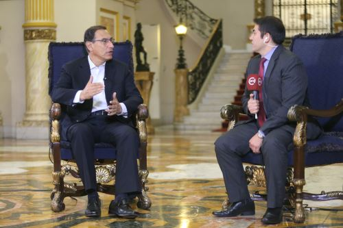 Presidente Vizcarra da detalles sobre la captura del ex juez César Hinostroza