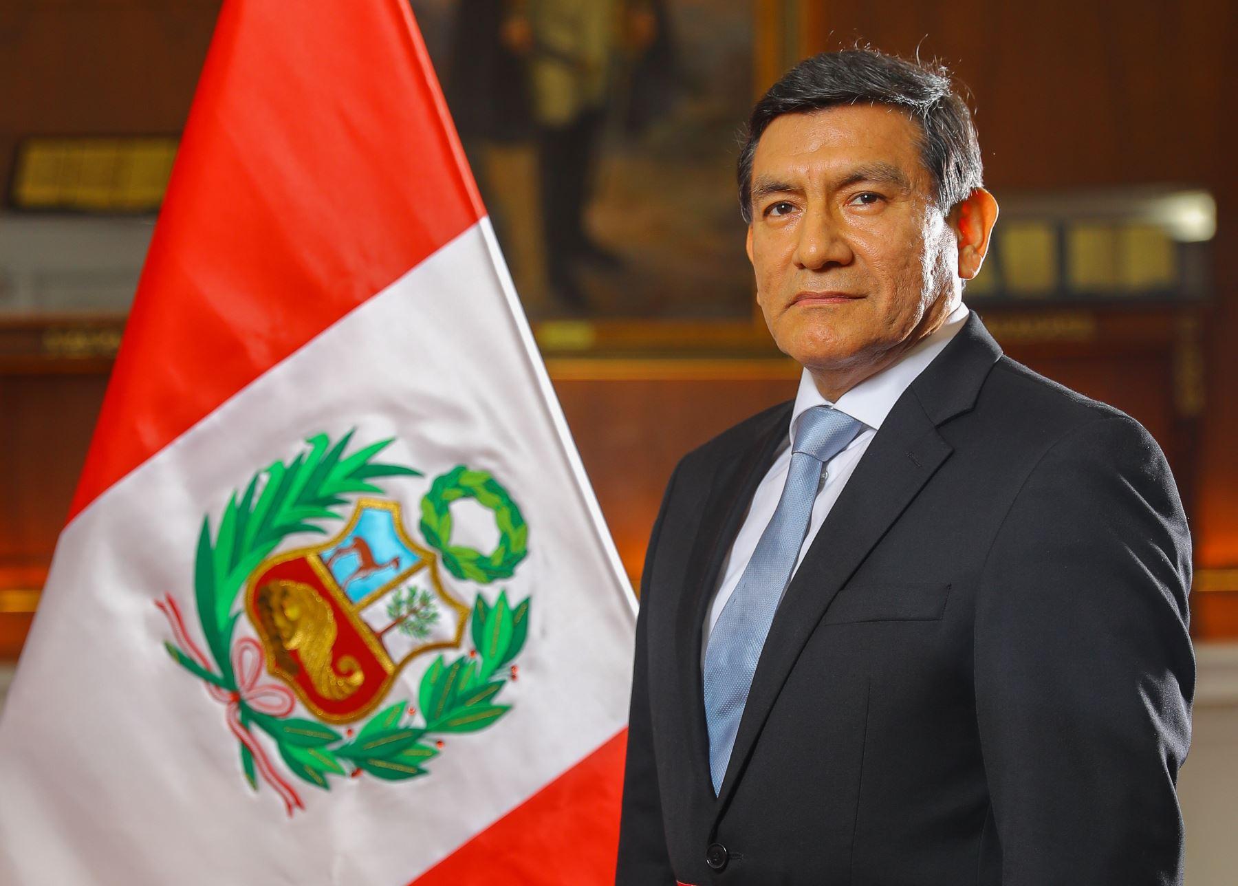 Ministro del Interior, Carlos Morán.