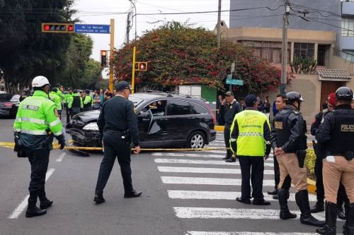Reportan balacera en Surco tras persecución policial por varios distritos. Foto: ANDINA/Internet.
