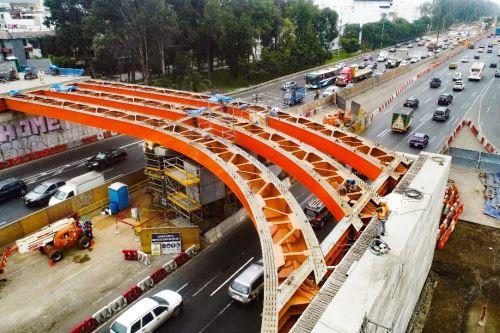 Municipio de Lima continuará con obras del proyecto vial El Derby. Foto: ANDINA/Difusión.