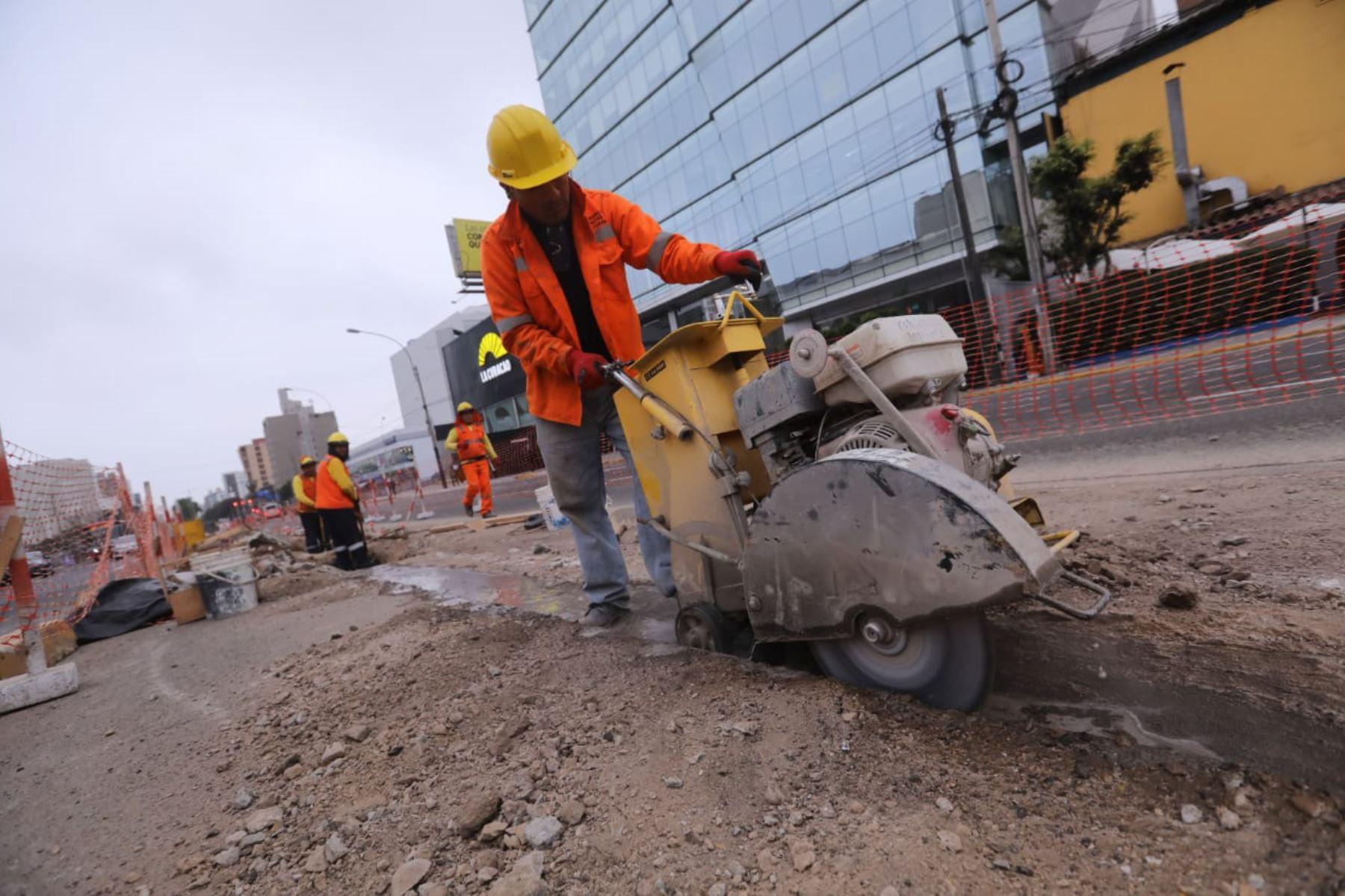 Ampliación a cuatro carriles de Av. Javier Prado. Foto: Municipalidad de Lima.