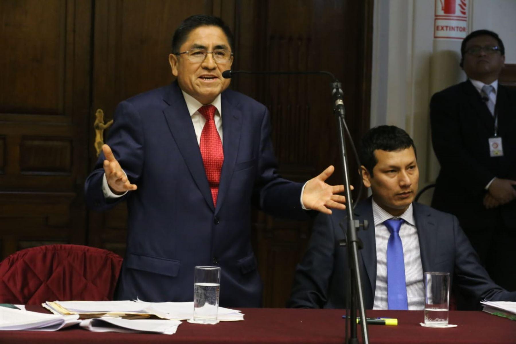 España rechazó pedido de asilo de César Hinostroza, confirma procurador