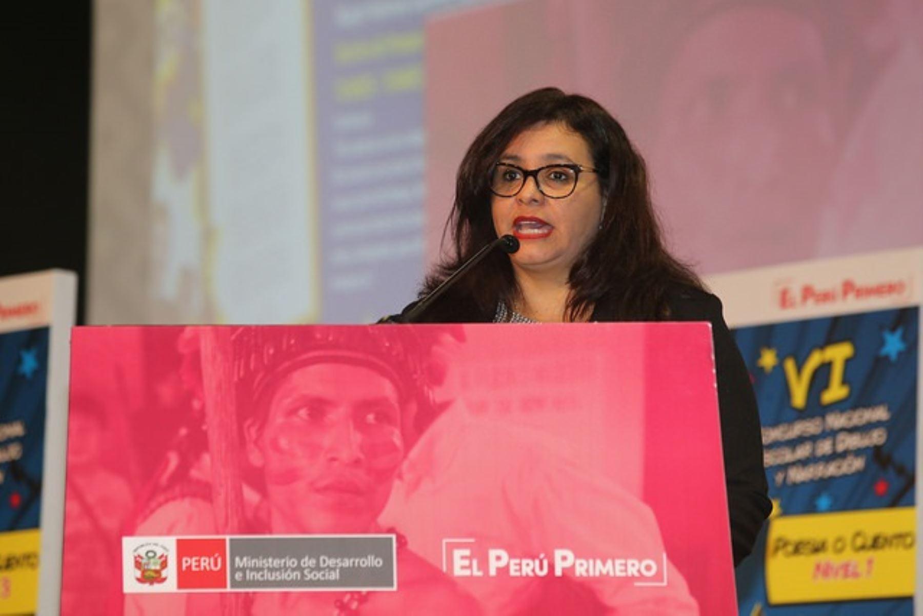 Primera dama, Marisol Díaz Cabello, participó en la entrega de premios del concurso nacional Los Abuelos Ahora de Pension 65.