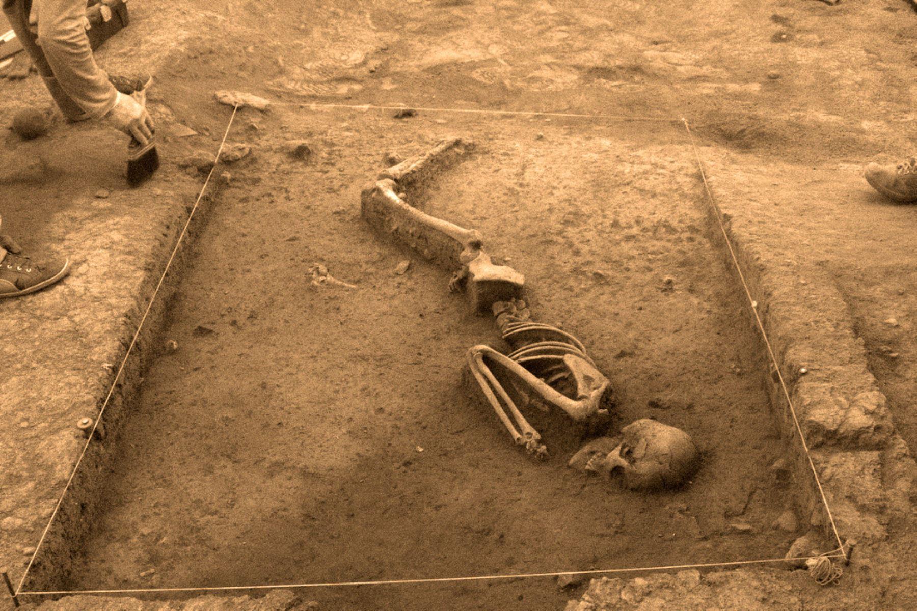 Descubren entierros humanos de hace 3,000 años en Cusco. ANDINA/Difusión