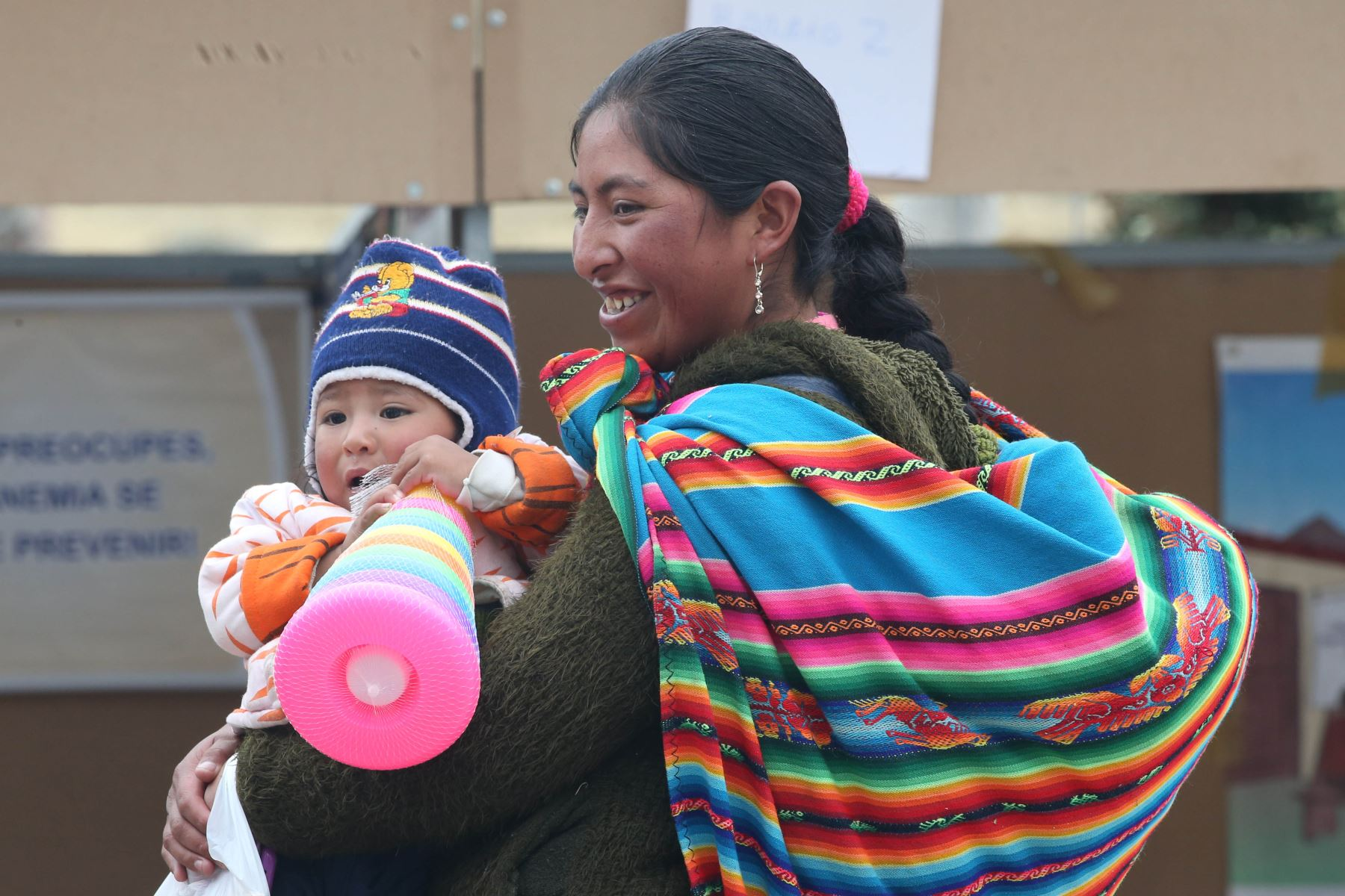 Conoce Antauta, el pueblo de Puno que vence a la anemia infantil.Foto:  ANDINA/Vidal Tarqui.