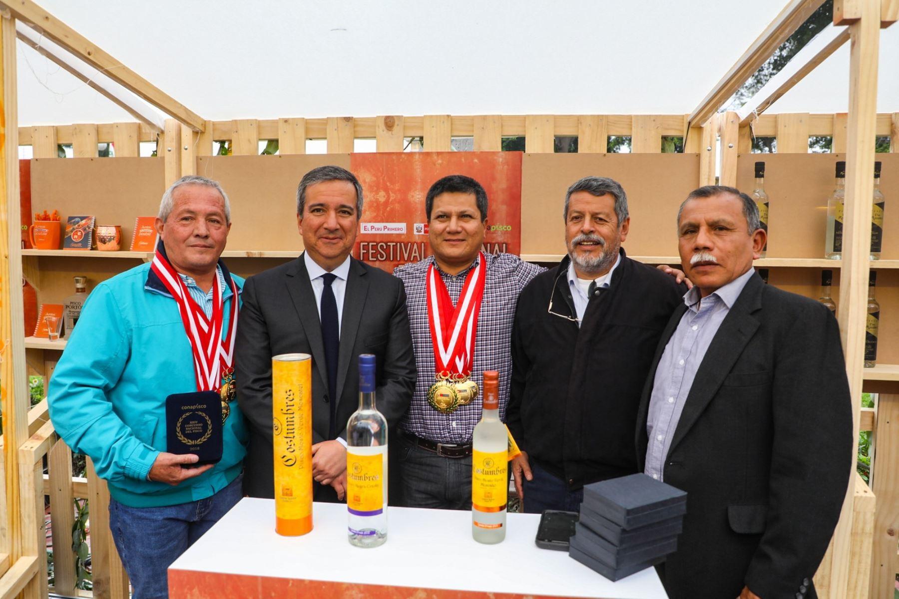 XXIV Concurso Nacional del Pisco. Cortesía.