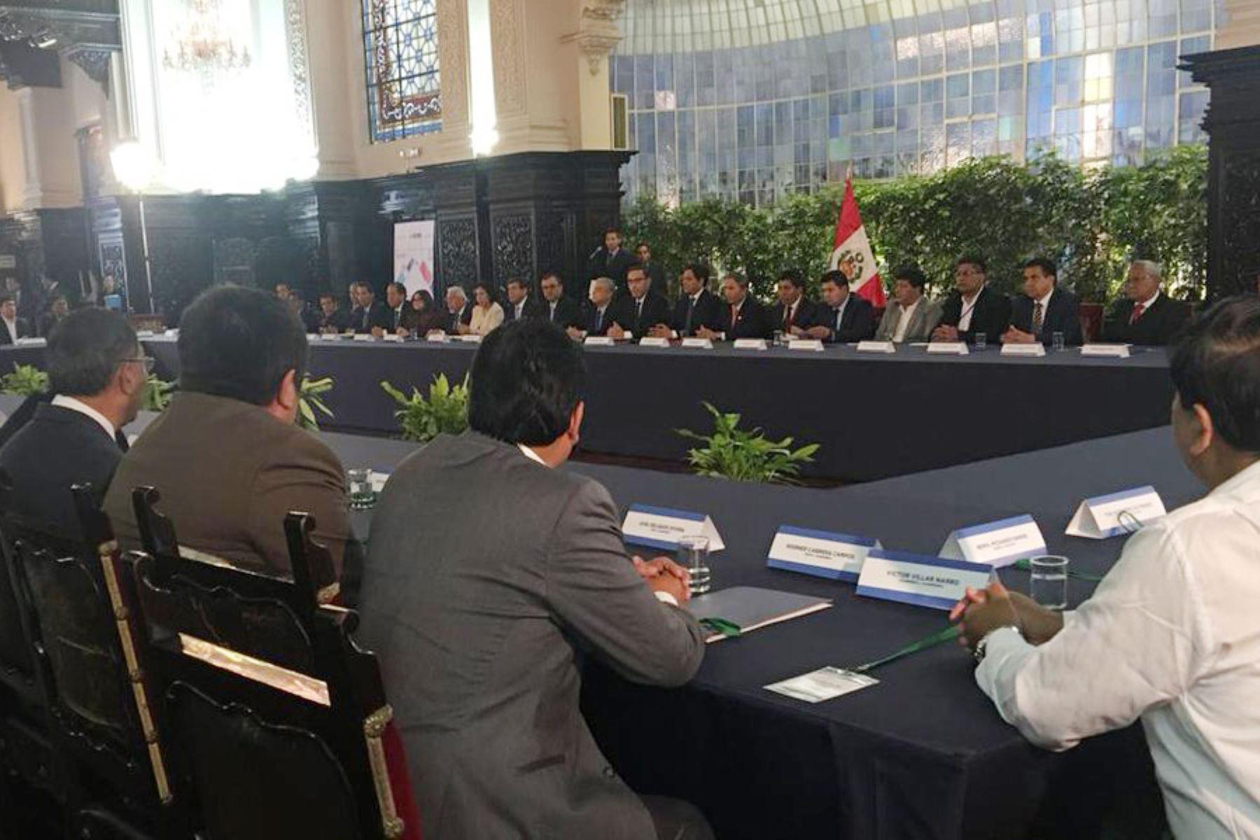 Ministra de Cultura convoca a autoridades electas a ejecutar agenda Bicentenario. ANDINA/Prensa Presidencia